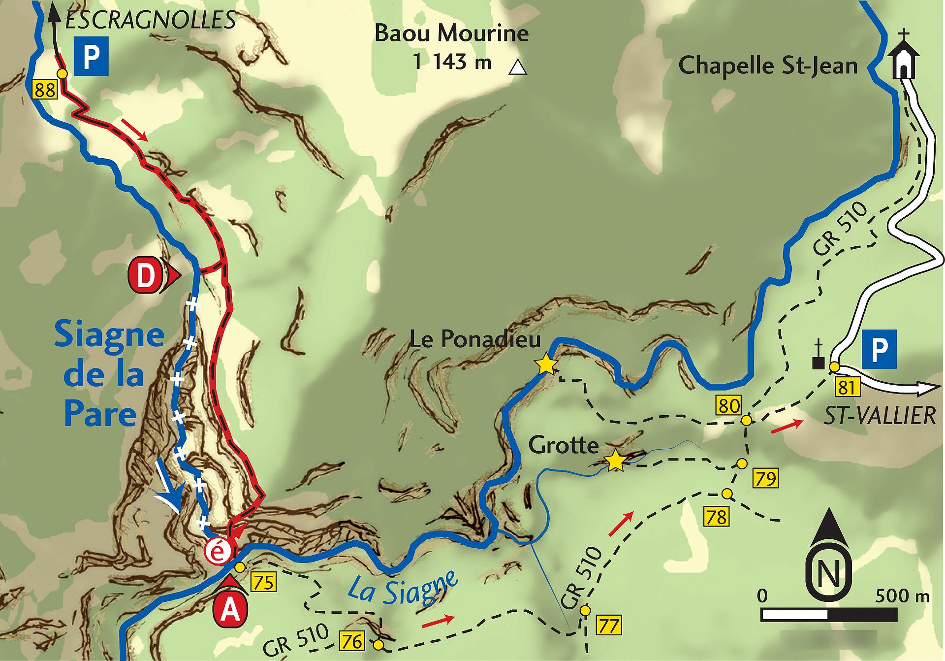 Siagne de la Pare - Département des Alpes-Maritimes
