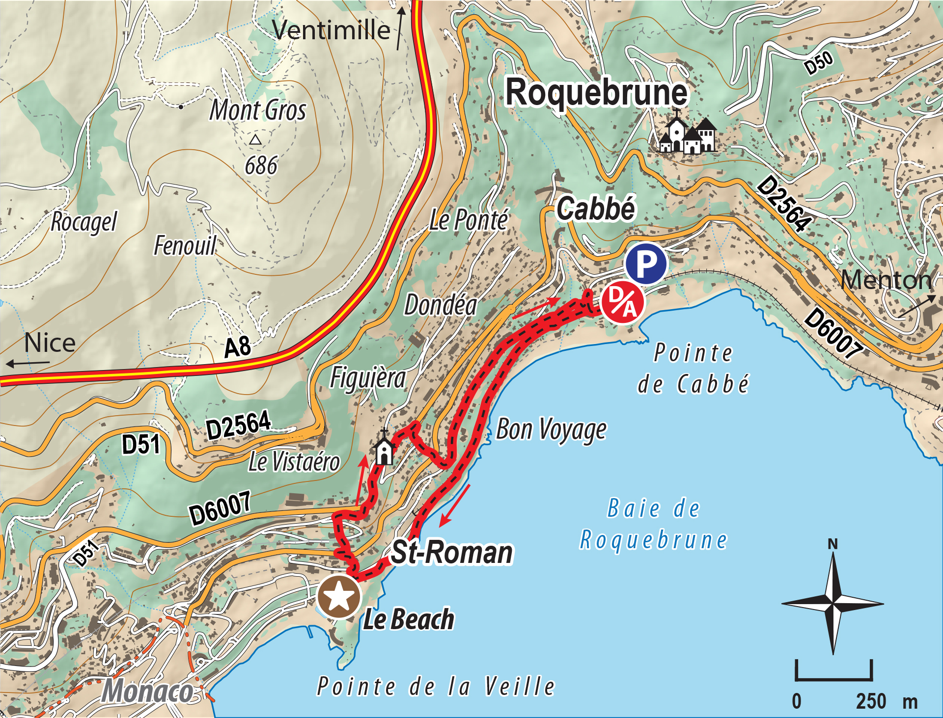 Maps of Monaco | SeeMonaco.com