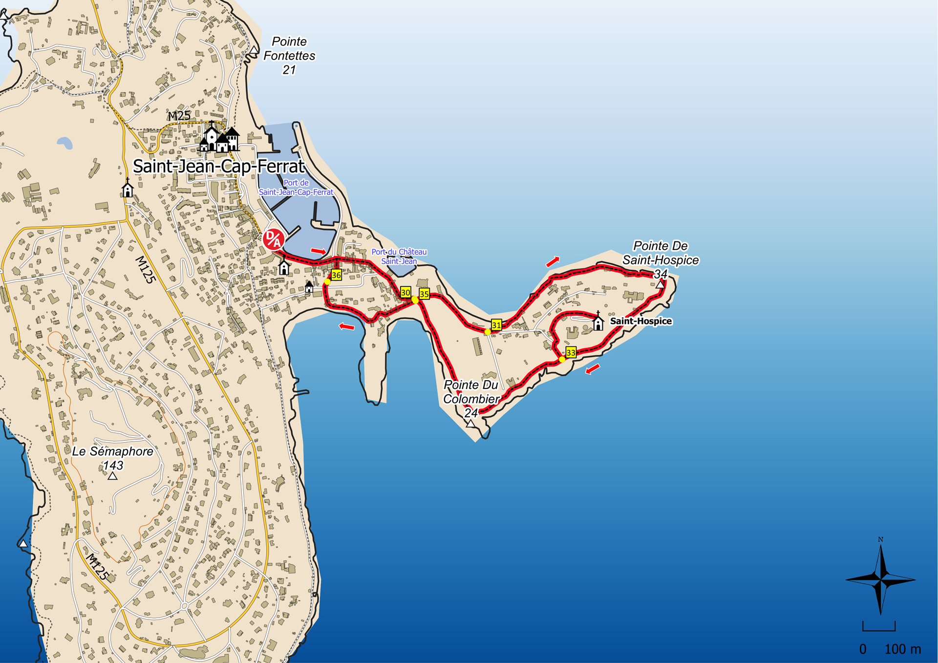 Maps of Nice France SeeNicecom