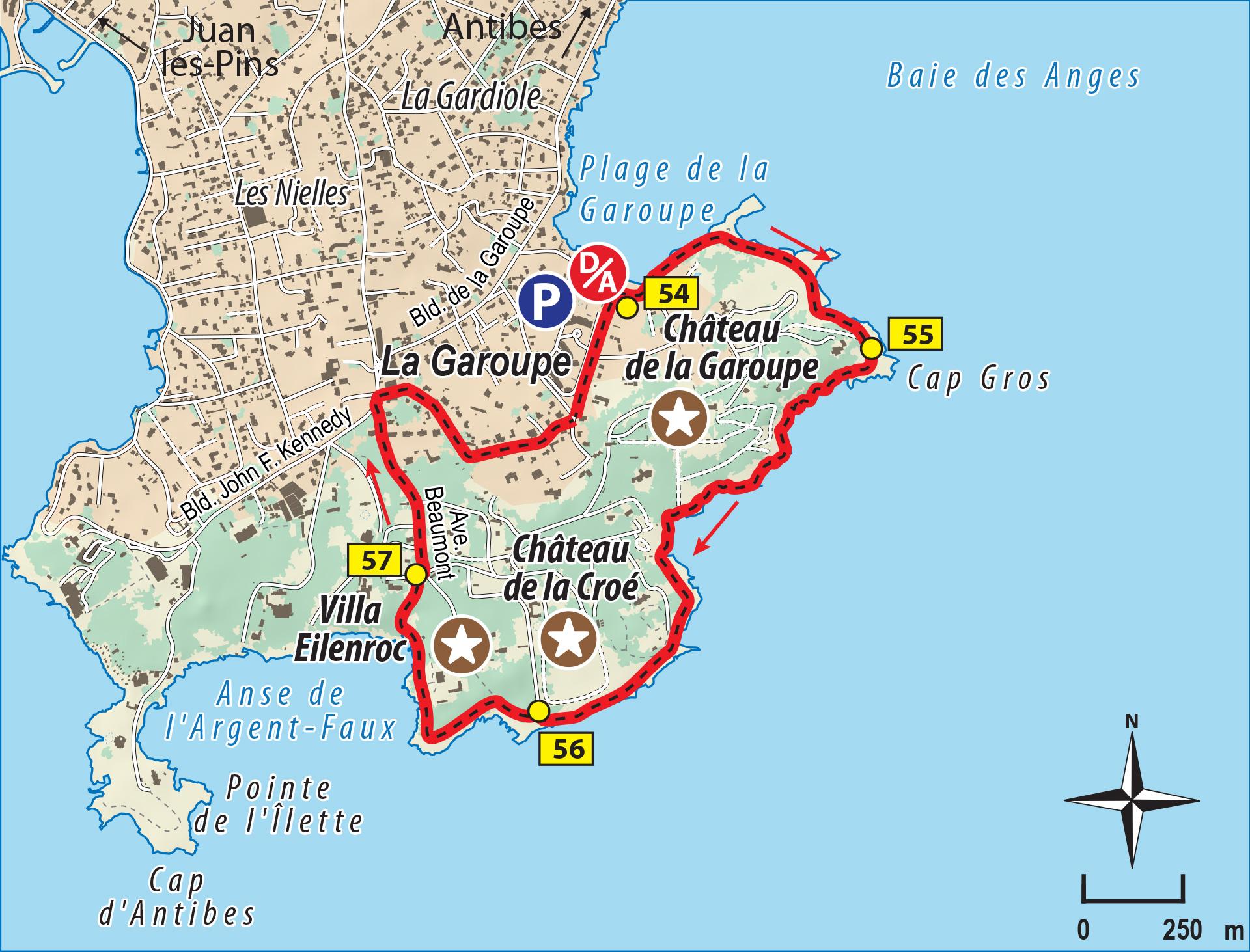 Tour Du Cap D U0026 39 Antibes